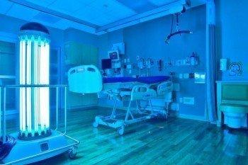 UV-C (Ultraviolet) Light Disinfection